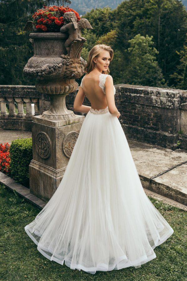 rochie de mireasa stil printesa