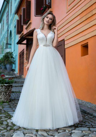 rochie de mireasa printesa 7813
