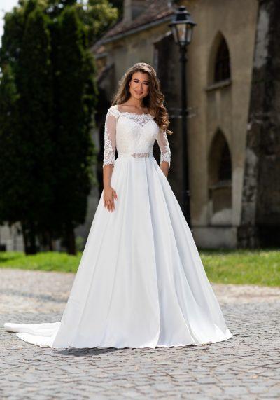 rochie de mireasa printesa 7817