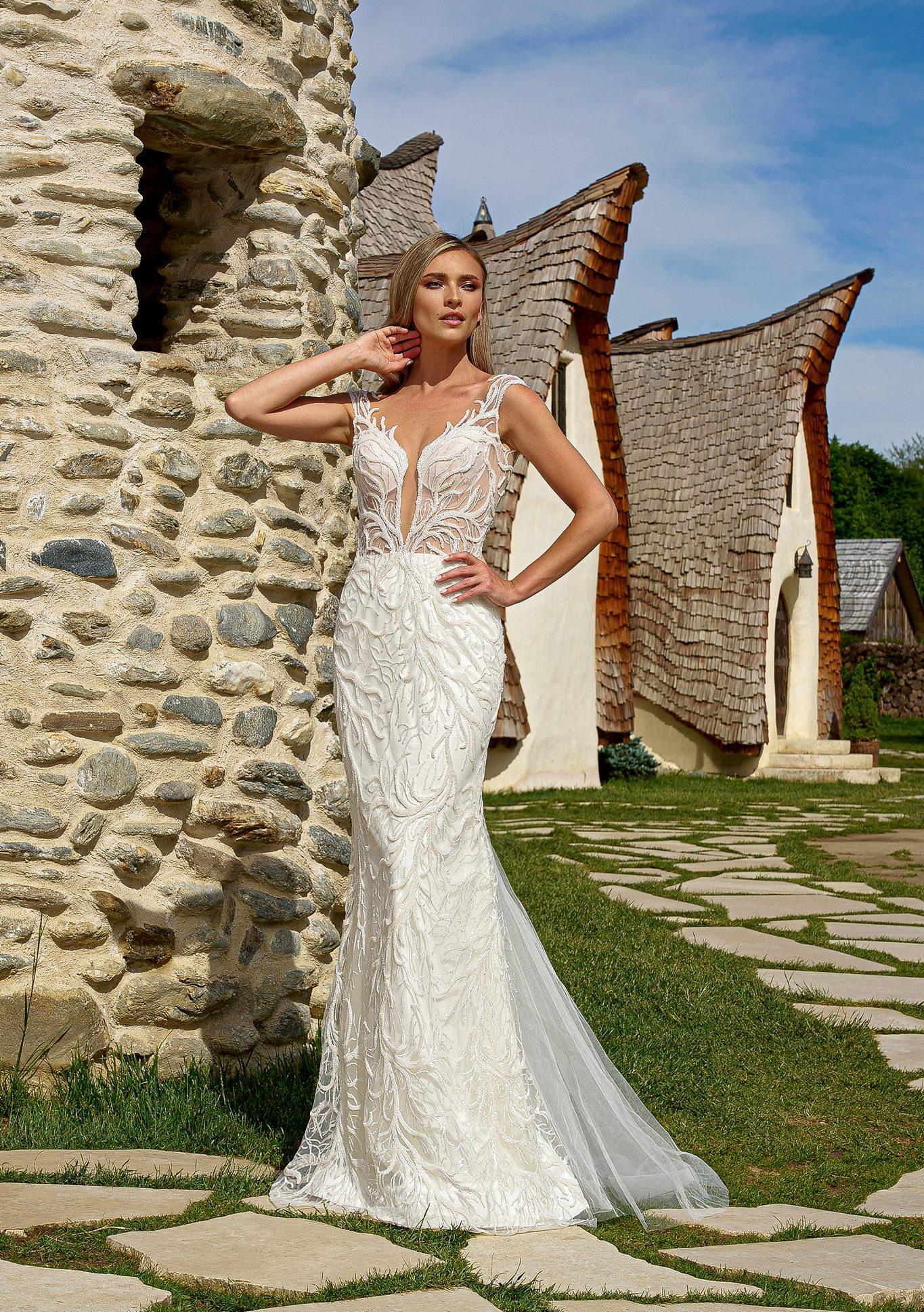 Avantajele unei rochii de mireasa sirena