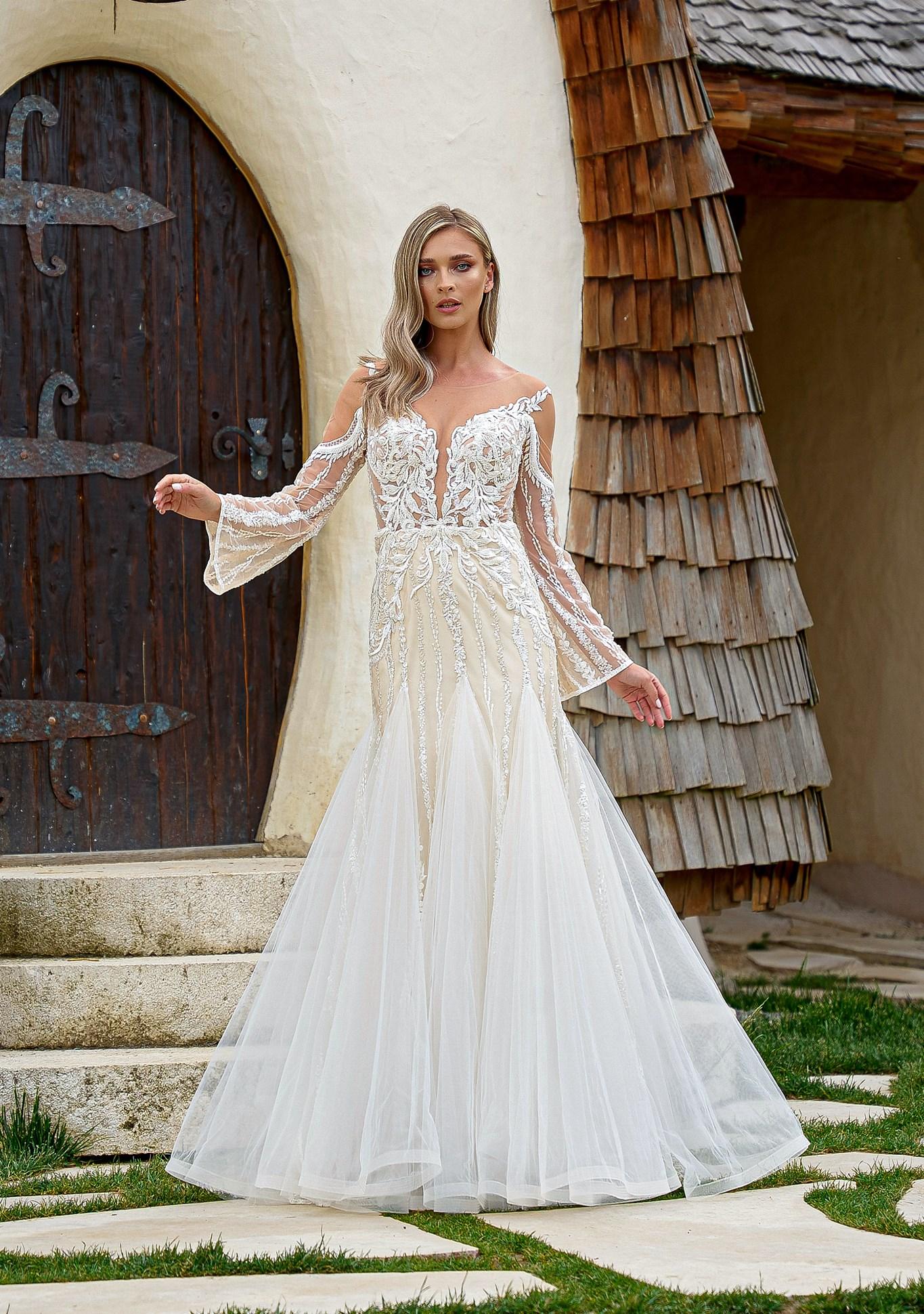 Rochie de mireasa la moda în 2022