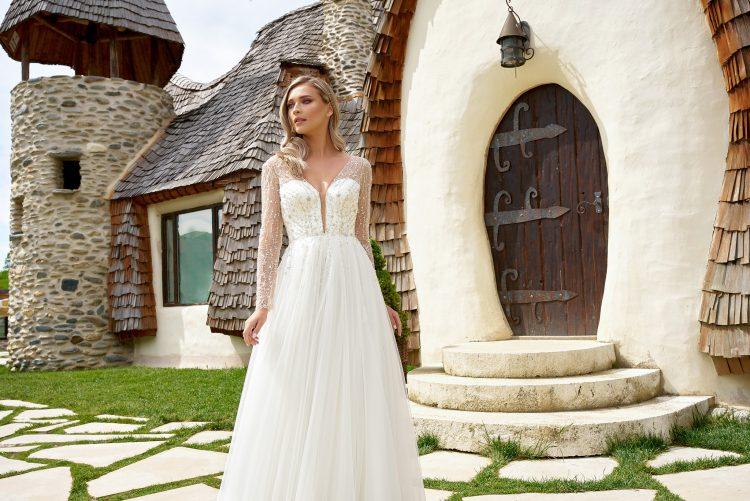 rochii de mireasa elegante