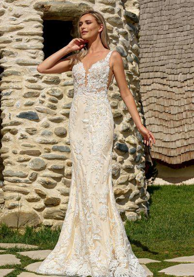 rochie de mireasa sirena bucuresti
