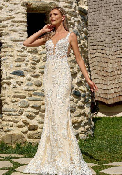 rochia de mireasa din dantela Bucuresti